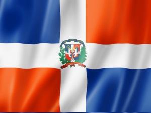 Dominikanische Republik-Flagge