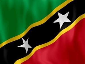 Nevis-Flagge