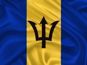 Barbados-Flagge
