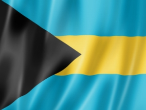 Bahamas Long Island Flagge