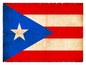 Flagge von Puerto Rico