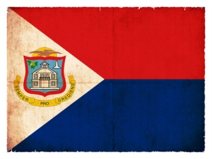 Sint Maarten Flagge