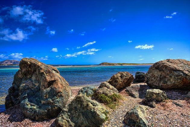 Blick aufs Meer von Saint MartinQuelle: Ocean View von Steve Sutherland (CC BY 2.0)